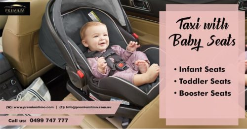 Taxi with baby seats Sydney